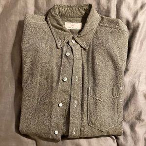 Rag and Bone Workwear Button Down Grey Men's M
